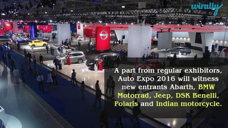 Auto Expo 2016 will witness new entrants
