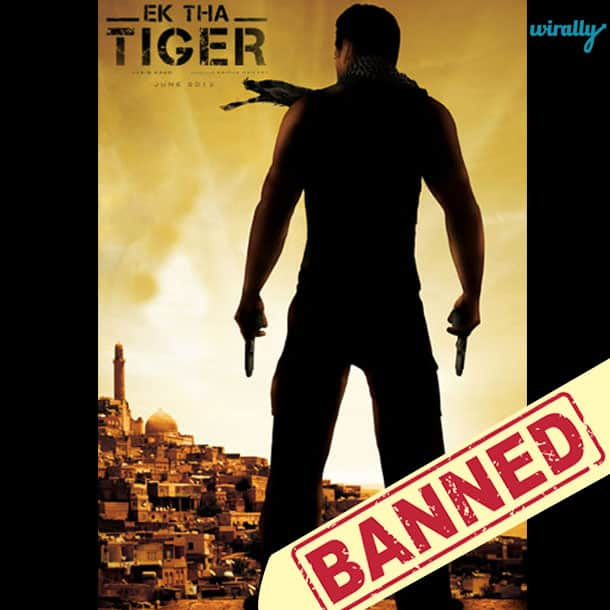 Ek Tha Tiger-Movies That Have been banned in Pakistan