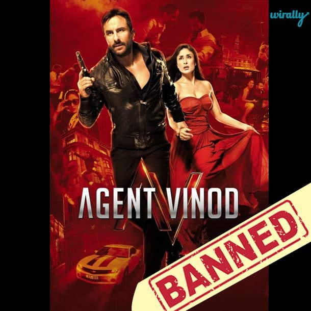 Agent Vinod-Movies That Have been banned in Pakistan
