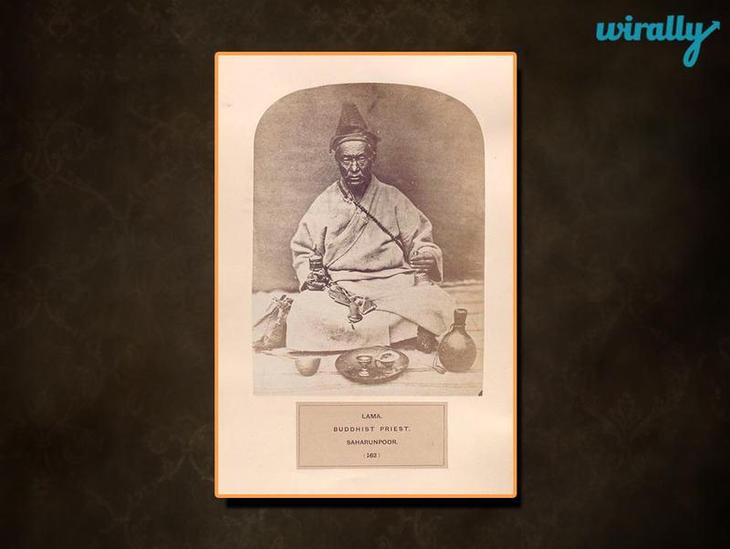 Lama, Buddhist priest, Saharunpoor.