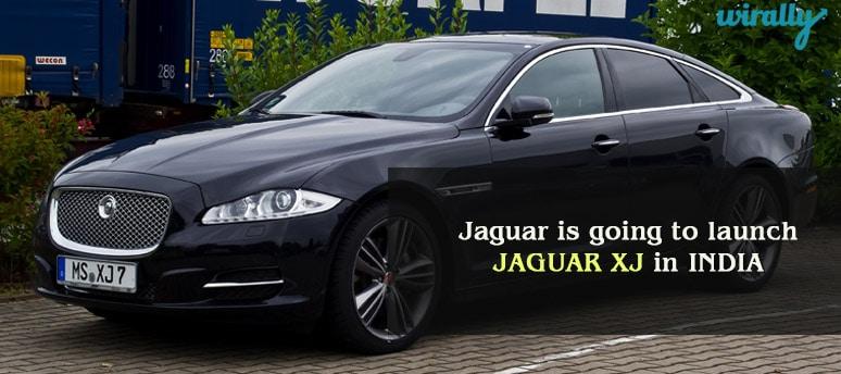 Jaguar XJ in Auto Expo 2016
