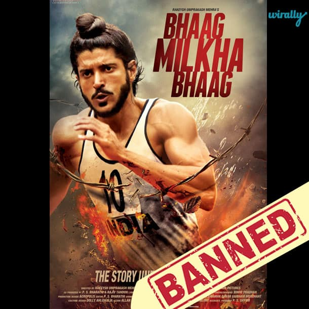 Bhaag Milkha Bhaag-Movies That Have been banned in Pakistan