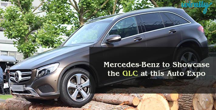 Mercedes-Benz to showcase the GLC at this Auto Expo 2016