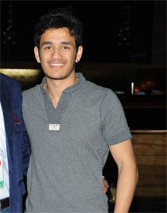 Akhil Akkineni @ Dubai CCL Day 2 Stills