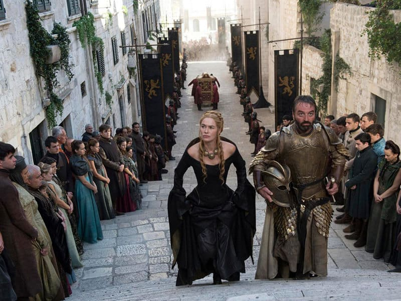 Baroque Staircase (Dubrovnik) Becomes the Stairs to the Great Sept of Baelor (King's Landing)1