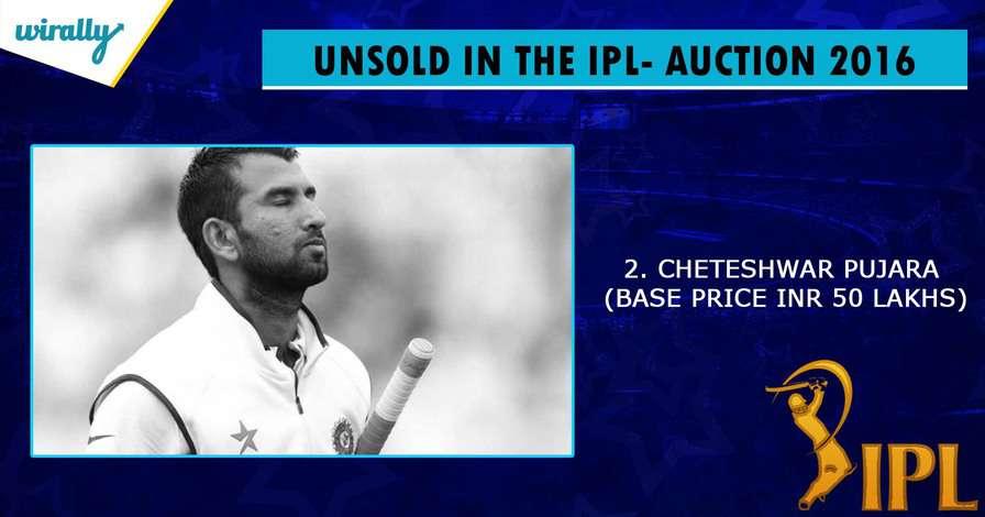 Cheteshwar Pujara-Martin Guptill-unsold players in IPL 2016