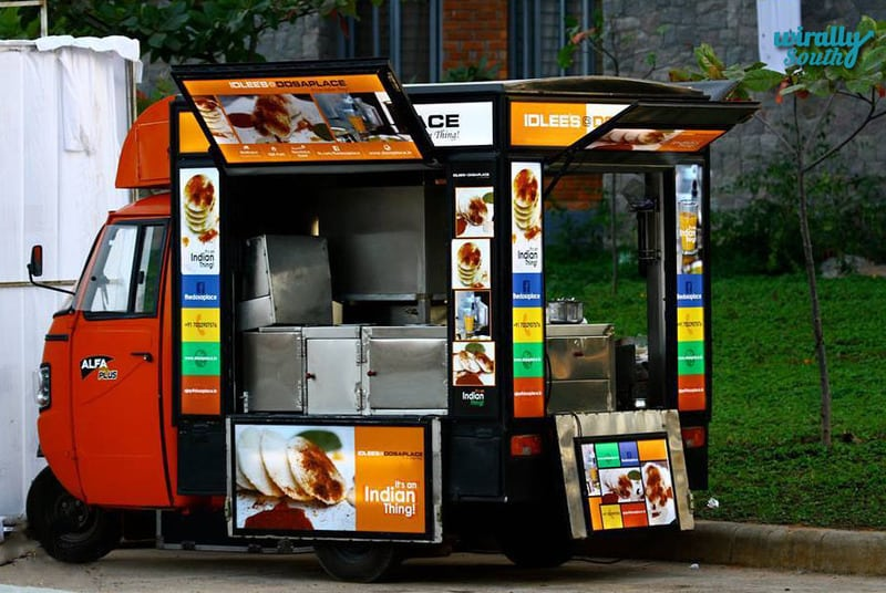 Dosa places-food trucks in the Twin cities