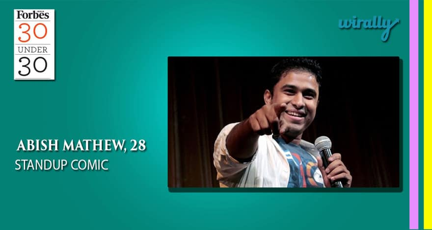 Abish Mathew-Standup Comic