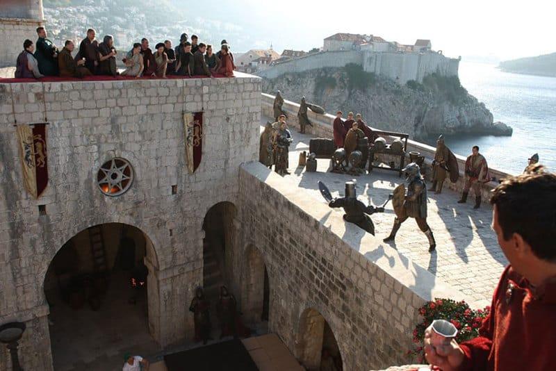 Fort Lovrijenac (Dubrovnik) – Red Keep (King's Landing)1