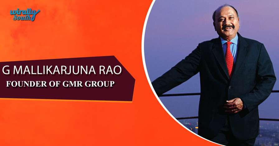 G MALLIKARJUNA RAO - Founder, GMR Group-Personalities from Telugu States