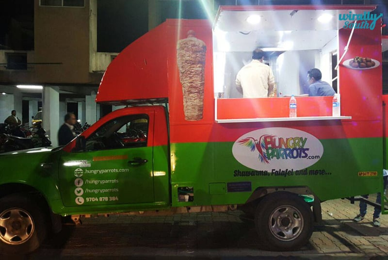 Hungry Parrots-food trucks in the Twin cities
