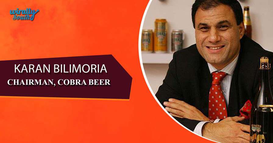 KARAN BILIMORIA - Chairman, Cobra Beer-Personalities from Telugu States