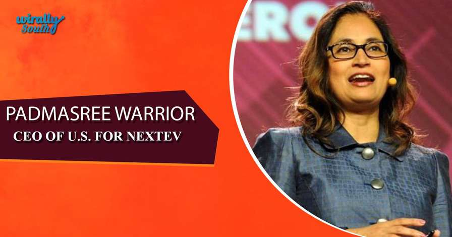 PADMASREE WARRIOR - CEO of US for NextEV-Personalities from Telugu States