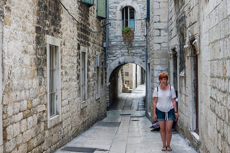 Papalićeva Street in Split became one of the Streets Seen in Slave Rebellion Scene2