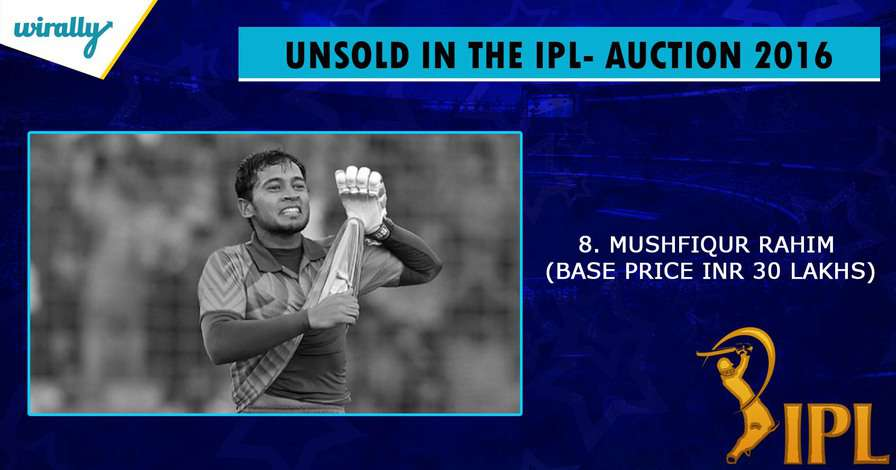 Rahim-unsold players in IPL 2016
