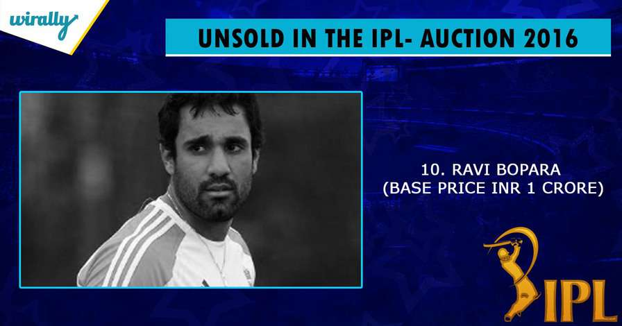 Ravi Bopara-unsold players in IPL 2016