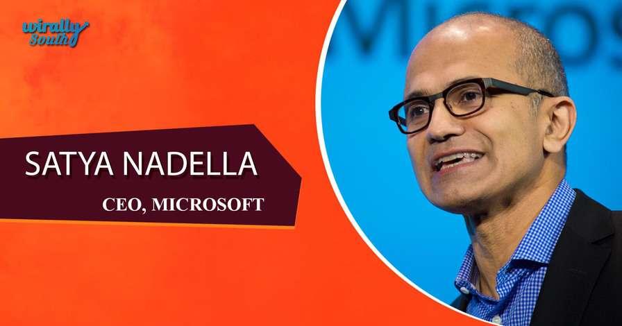 SATYA NADELLA - CEO, Microsoft-Personalities from Telugu States
