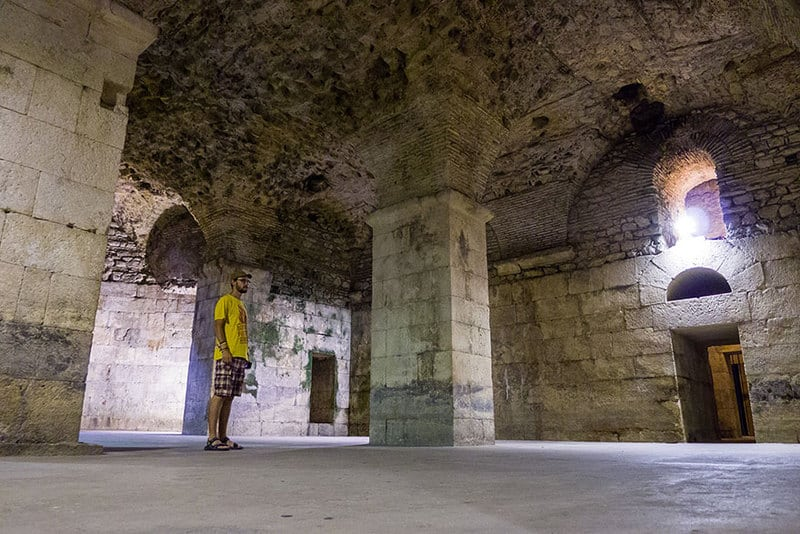 The Basement of Diocletian's Palace (Split) – Where Dragons are Kept2