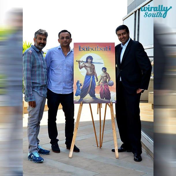 Bahubali Comic Poster