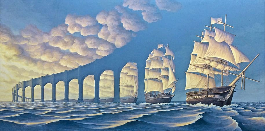 Logic bending paintings