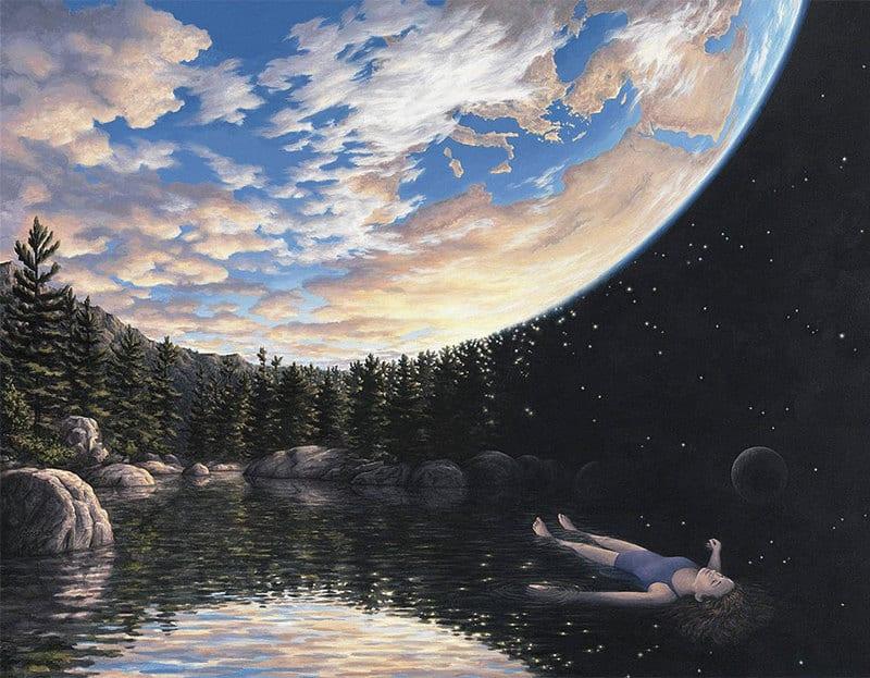 Logic bending paintings-gonsalves