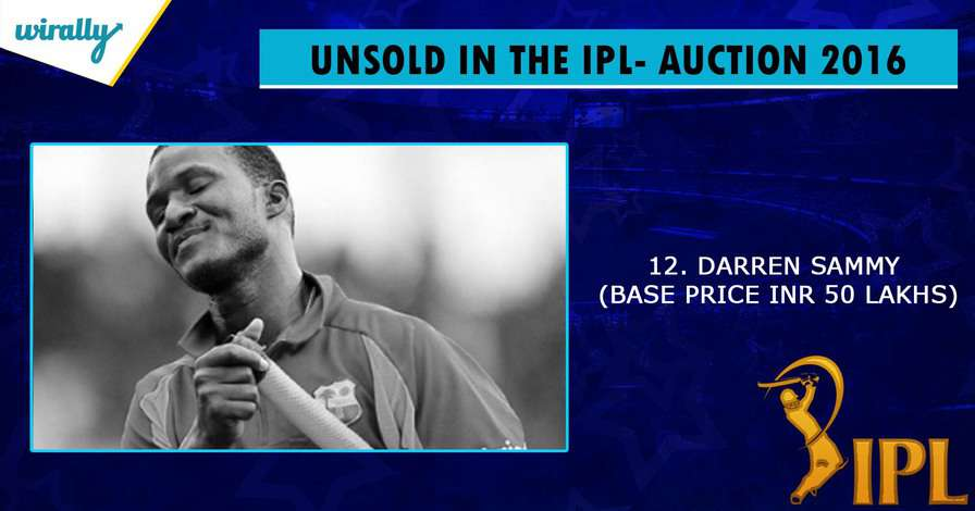 sammy-unsold players in IPL 2016