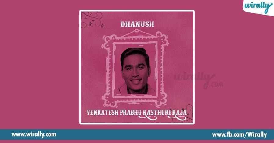7 - Dhanush