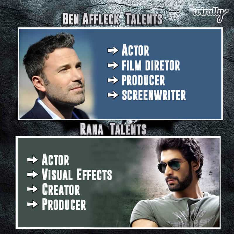 Ben Affleck Talents