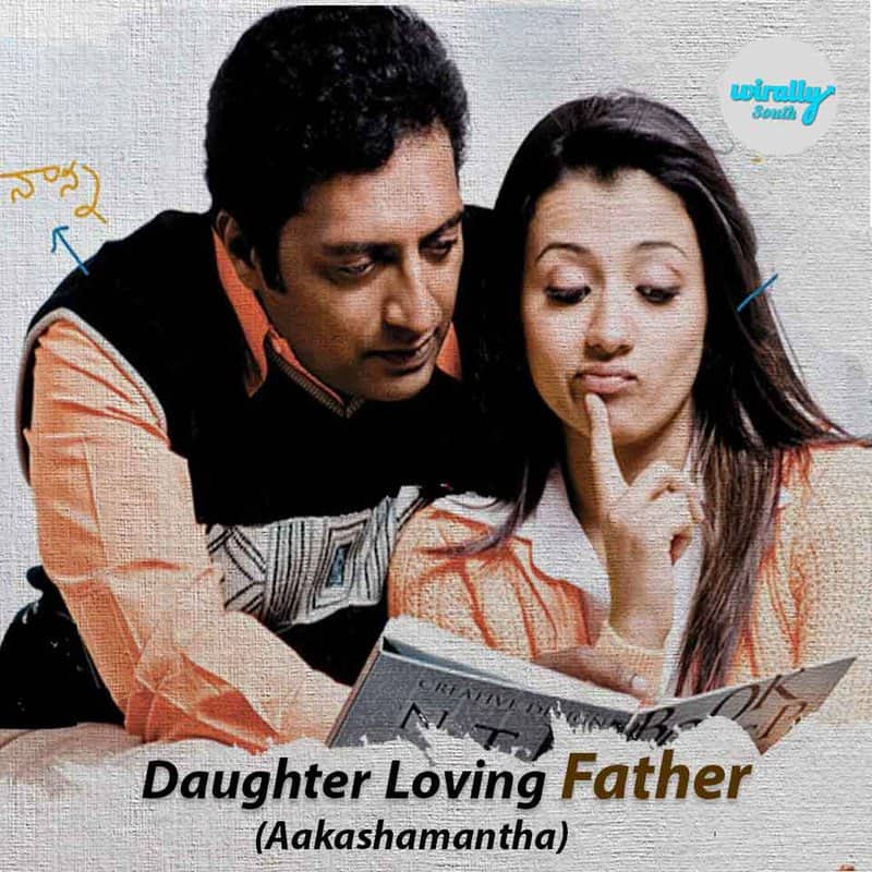 Daughter Loving Father