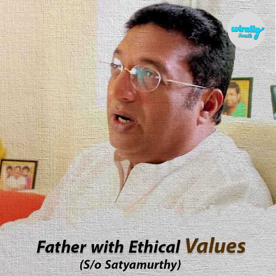 Father with Ethical values