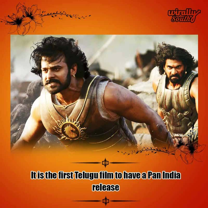 It is the first Telugu film to have a Pan India