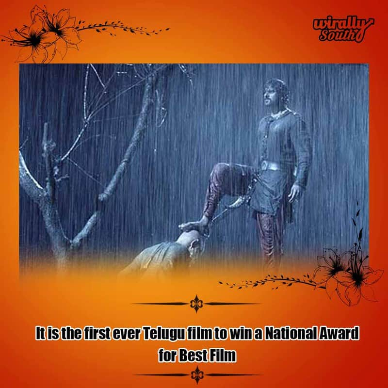 It is the first ever Telugu film to win a National Award for Best Film