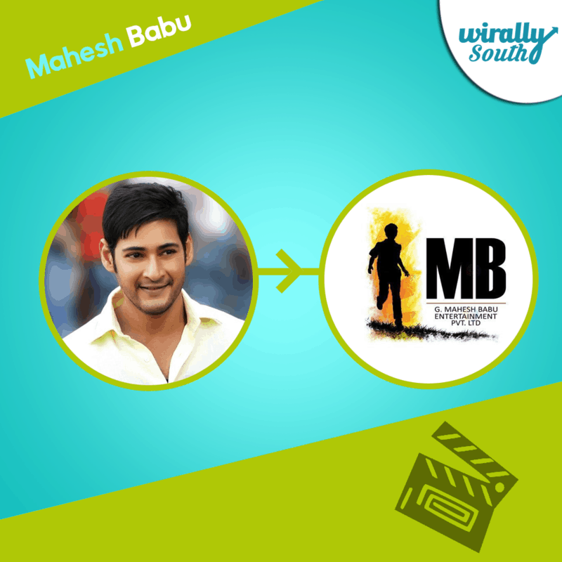 Mahesh Babu Mahesh Babu Entertainment Pvt. Ltd banner