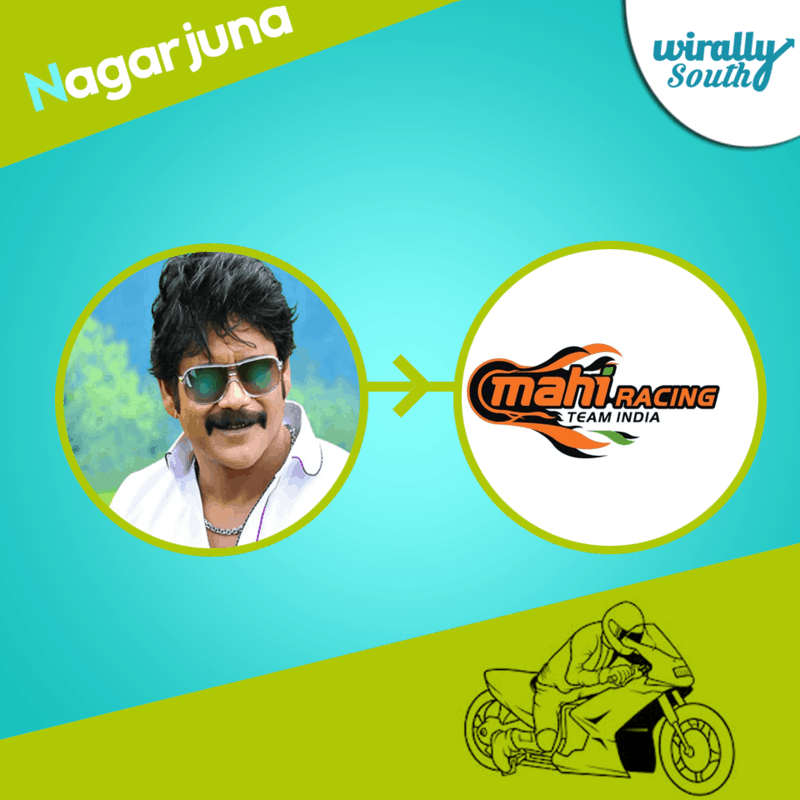 Nagarjuna - Superbike Mahi Racing Team