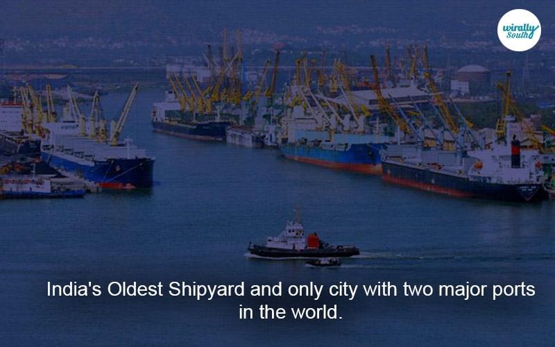Oldest Shipyard vizag