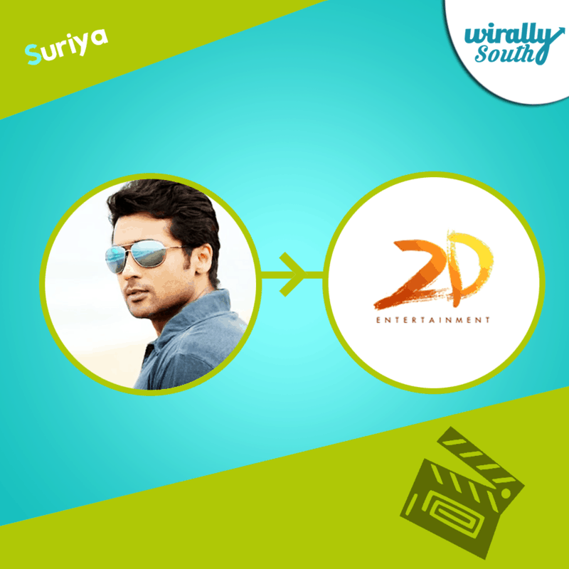 Suriya 2D Entertainment banner