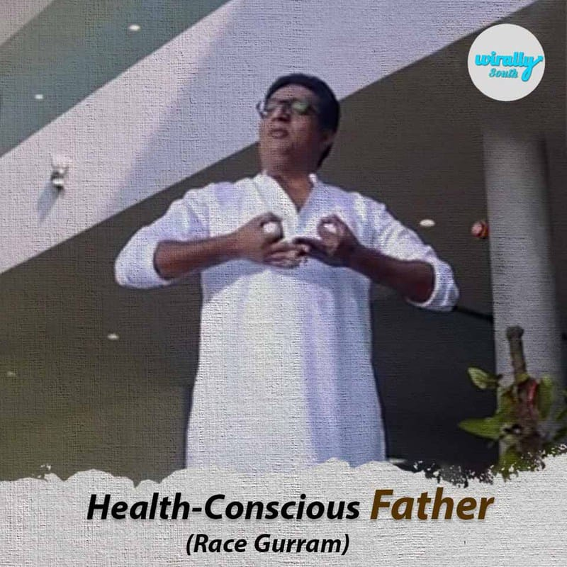 health-conscious father