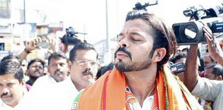 sreesanth, sreesanth bjp candidate, sreesanth twitter meme, sreesanth tweeted photo meme, sreesanth political campaign