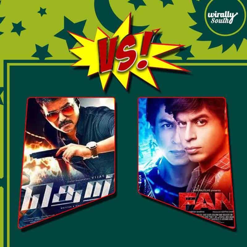5 times Vijay locked horns with Shah Rukh Khan5