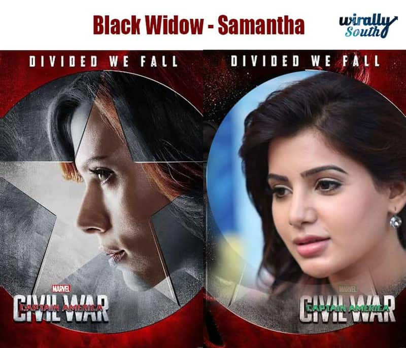 Black Widow - Samantha
