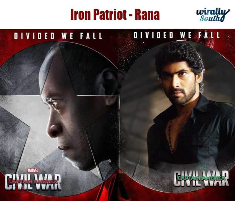 Iron Patriot - Rana