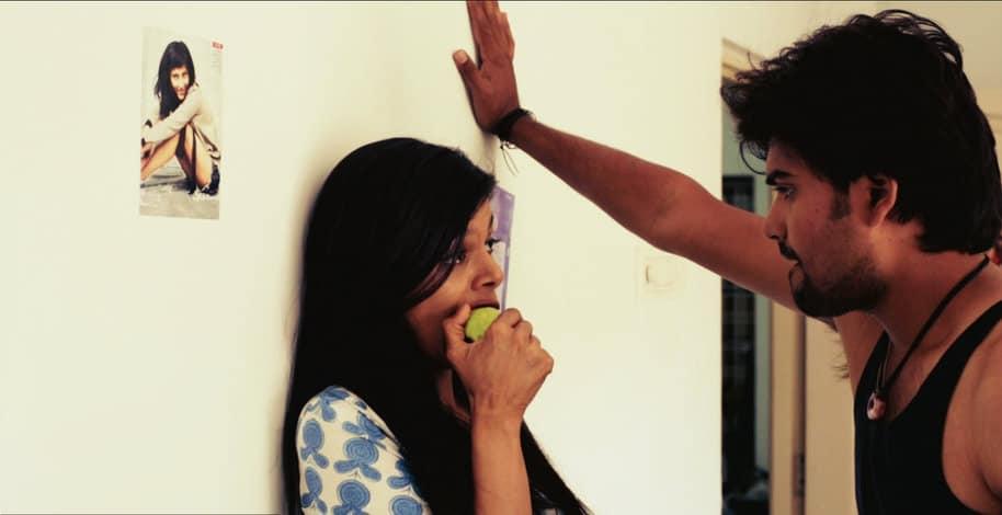 Karthik and Anushree Kiss with Guava