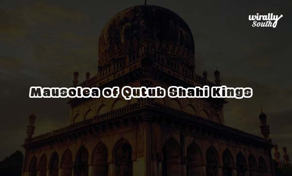 Mausolea of Qutub Shahi Kings
