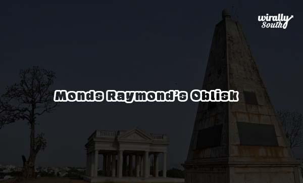 Monds Raymond's Oblisk