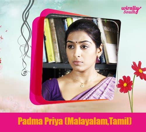 Padma Priya (Malayalam,Tamil)