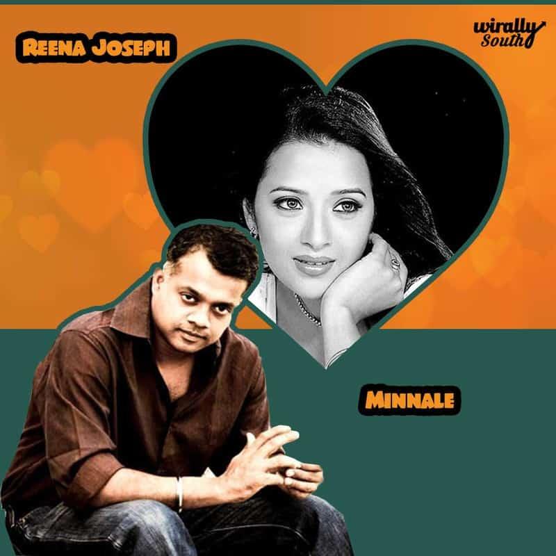 Reena Joseph - Minnale (Reema sen from Cheli)