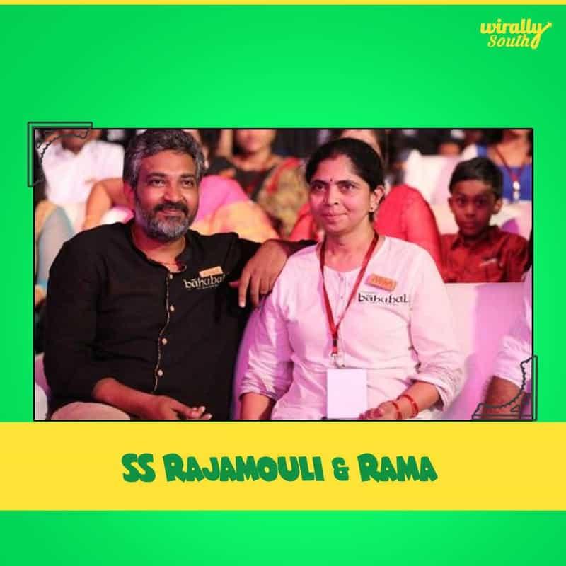 SS Rajamouli & Rama