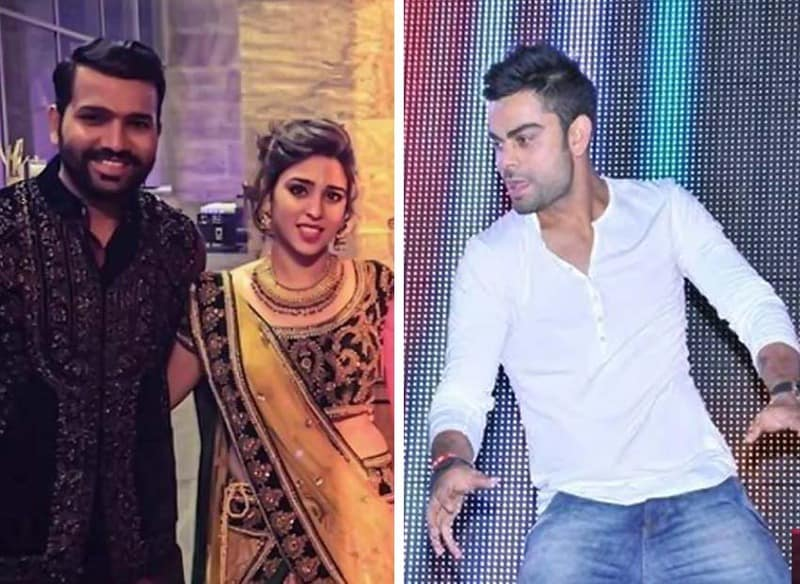 Virat Kohli, Rohit Sharma, Sonakshi Sinha, Dance, virat kohli dance, Rohit Sharma Wedding, rohit sharma sangeet,sonakshi sinha and virat kohli dance, sonakshi sinha and virat kohli together, rohit sharma wedding