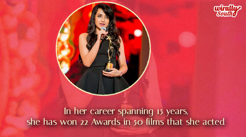 Trisha awards