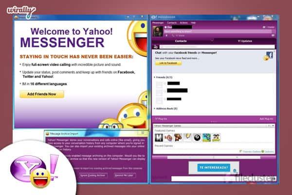 1. Yahoo Messenger